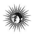 sun face girl 0001 vector image