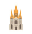 australia st paul cathedral building melbourne vector image