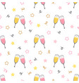 background champagne glasses vector image