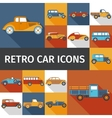 Old Cars Set vector image vector image