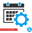 Schedule Options Eps Icon vector image