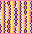 seamless background with geometric pattern vector image vector image