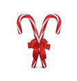 two 3d realistic christmas and new year vector image vector image