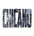 vintage chicano inscription concept vector image vector image