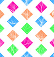 Abstract Colorful Squares Seamless Pattern vector image vector image