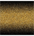 background with gold gradients texture on black vector image vector image