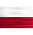 Concept polish flag white red background with