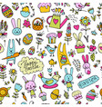 easter seamless pattern for your design vector image vector image