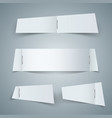 paper blank icon - business infographic vector image