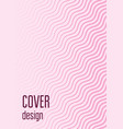 abstract cover minimal trendy vector image