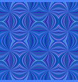 blue seamless abstract psychedelic swirling ray vector image vector image