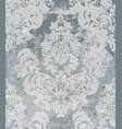 damask pattern vintage baroque ornament vector image vector image