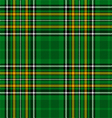 Ireland National Tartan vector image vector image