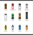 means transportations collection on white vector image vector image