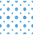 sadness icons pattern seamless white background vector image vector image