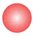texture of many small circles the red vector image
