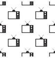 old television seamless2 vector image