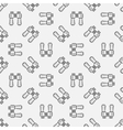 Binoculars seamless pattern vector image vector image