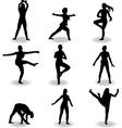 dance women silhouette