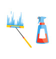 domestic housework household cleaning vector image vector image
