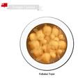 Faikakai Topai or Tongan Dumplings in Coconut Milk vector image vector image