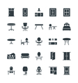 Furniture Cool Icons 3 vector image vector image