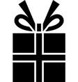 gift box box box icon vector image vector image