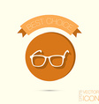 Glasses Icon eyeglasses sign vector image