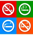 No smoking area - Stickers vector image