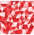 Red Mosaic Background vector image vector image