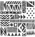 seamless tribal pattern Abstract vector image vector image