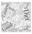 Your Vegetarian Baby Word Cloud Concept vector image vector image