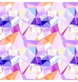 low poly seamless pattern Abstract diamond vector image