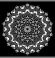 ornamental line pattern vector image