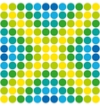 Abstract geometric retro pattern seamless Polka vector image vector image