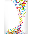 Abstract mobile phone backgrounds with colorful vector image vector image