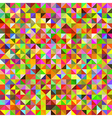 Abstract vintage polygonal background vector image vector image