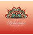 Beautiful Mandala flower decorative ornament vector image vector image
