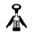 corkscrew for wine bottles vector image vector image