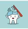 dental hygiene design vector image vector image