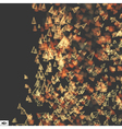 Dynamic Emitted Particles Motion Bokeh Effect vector image