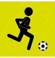 football soccer design vector image vector image
