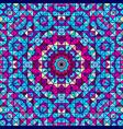geometric contrast line flower vector image