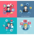 People professions concept vector image vector image
