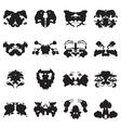 Rorschach test inkblots
