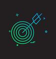 archery icon design vector image