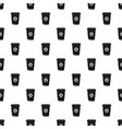 coffee plastic cup pattern seamless vector image vector image