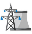 power plant icon vector image