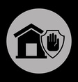 security home vector image vector image