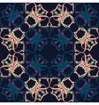 Seamless pattern Vintage decorative elements vector image